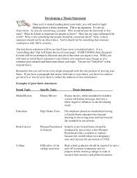 essay thesis statement example co essay