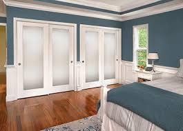 Bedroom closet doors sliding
