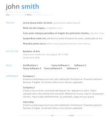 Wordpad Resume Template 100 Free Resume Templates For Microsoft Word Template Dow Myenvoc 100