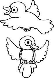 Coloriage Dessiner Oiseau Imprimer Gratuit