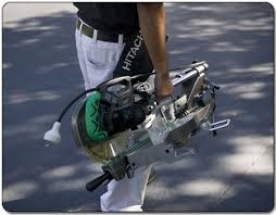 hitachi 10 sliding miter saw. weighing a mere 32 pounds, the miter saw is conveniently portable. hitachi 10 sliding