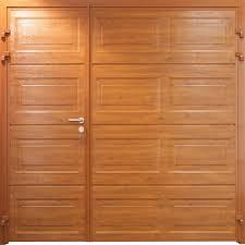 carteck georgian 50 50 horizontal wood design carteck steel side hinged garage door at garage doors