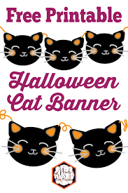 20 printable halloween decorations that will make any house festive for halloween! 7 Free Printable Halloween Decorations Food Life Design