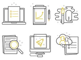 two tone icons embrace minimalism 3 tone icon examples designmodo