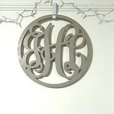 wooden wall monogram wooden monogram letters for wall inch circle wooden monogram letters vine room wooden wall monogram