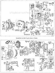 briggs and stratton 143300 series parts list and diagram click to close