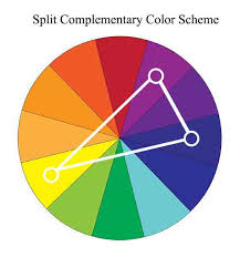 Example Of Split Complementary Colors Artist Blog