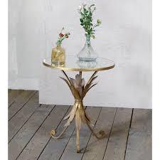 pineapple gin shu parisienne metal coffee table