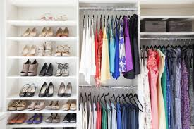 arrange closet by season view in gallery one way to organize your