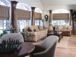 Living Room Window Designs Kitchen Curtain Ideas Hgtv