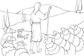 Good_ Shepherd_coloring page_33 727 best images about moutons berger parabole de la brebis on perdue printable coupons