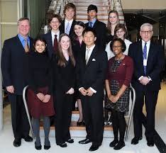 winners junior achievement of greater washington front row from left junior achievement president ceo ed grenier a i