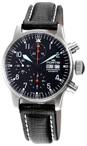 fortis flieger luxury watches fortis watches fortis mens 597 11 11 l01 flieger automatic chronograph