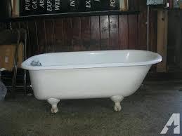 clawfoot bathtub tub for in classifieds and in clawfoot bathtub shower kit