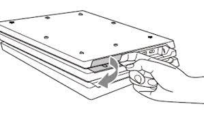 PS4: замена жесткого диска (HDD)