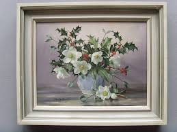 albert williams 1922 2010 oil ebores holly antique oil paintings