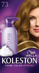 Koleston Foam Hair Color Chart Wella Koleston Foam Color Intense 7 3 Hazelnut