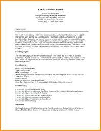 Event Sponsorship Letter New Event Sponsorship Letter Sample Colbroco
