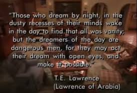 Te Lawrence Dream Quote Best Of Roseanne Last Episode Quote