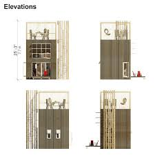small tower house plans veronica