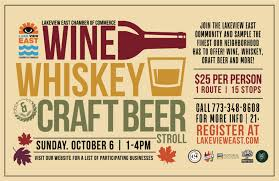 Samples Of Tickets For Events Wine Whiskey Craft Beer Stroll In Chicago At Lakeview East