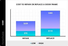 door frame replacement repair costs