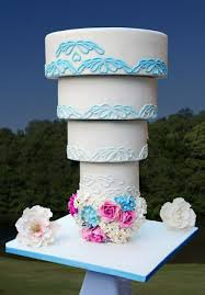 would you have a chandelier cake for your wedding day