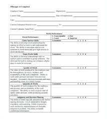 new hire review form review form template new hire review form employee template product