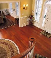 cherry hardwood floor. Halbert Brazilian Cherry Floor View From Staircase Hardwood 0