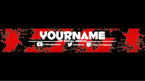 Channel Art Template Youtube Channel Art Template Color Pack