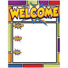 Welcome Chart Images Super Power Welcome Chart