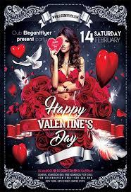 Valentines Flyers Free Valentines Day Flyer Templates In Psd By Elegantflyer