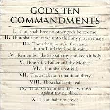 ten commandments wall art s ten commandments