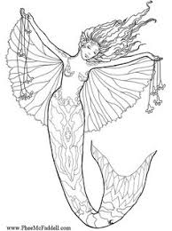 Small Picture Free Mermaid Colouring Pages for Grown Ups Mermaid Beach