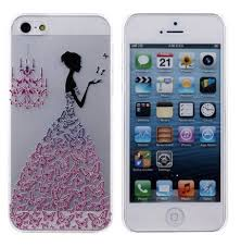 iphone 5s cases for girls. iphone 5 case, 5s case,i-fashion hard butterfly dress girl design cases for girls o