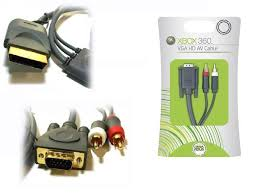 360 vga hd av cable optical toslink stereo rca audio xbox 360 vga hd av cable optical toslink stereo rca audio