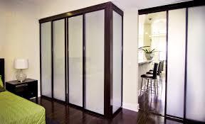 freestanding closet sliding glass doors