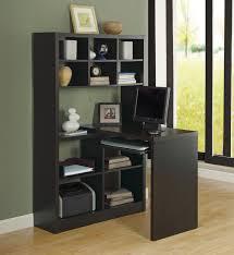 home office corner desk. Cappuccino Hollow-Core Left Or Right Facing Corner Desk Contemporary-home- Office- Home Office