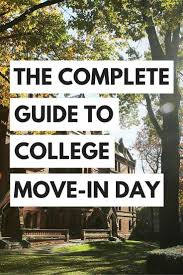 17 best ideas about college freshman tips college the complete guide to college move in day