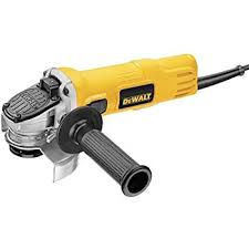 electric angle grinder. dewalt dwe4011 small angle grinder with one-touch guard, 4-1/2 electric h