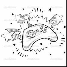 Small Picture surprising game controller drawing with video game coloring pages