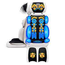 Tam vücut masajı yastık boyun geri bel kalça bacak elektrikli titreşimli  ısıtma masaj koltuğu kas stimülatörü masaj Masaj Koltuğu