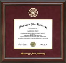 mississippi state university development and alumni msu diploma  your diploma deserves to be preserved in an official mississippi state university diploma frame