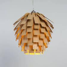 wood veneer lighting. Lighting:Excellent Wood Veneer Pendant Light Nest Lamps Op2070 Series Oaklamp Woven Lamp With Bulb Lighting