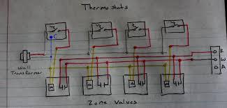 zone valve wiring diagram honeywell 3 port electrical circuit