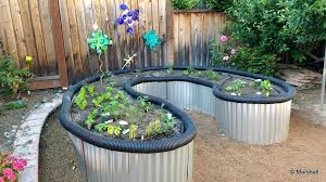 corrugated metal raised garden beds. Corrugated Metal Garden Bed Introduction Raised From Roofing Sheet Iron . Beds G