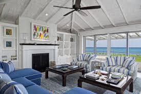 Florida Beach Cottage beach-style-living-room