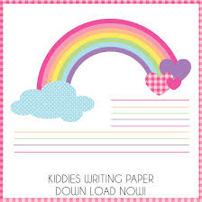 kiddies corner enchanted interiors writing paper whether you are holding a birthday party or want to do something special for your friend why not add a personal touch our themed