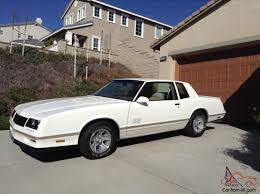 Chevrolet Monte Carlo SS White/Tan Excellent Condition