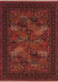 couristan kashimar imperial baktiari 8143 3203 antique red area rug